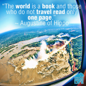 travel quote from augustine of hippo