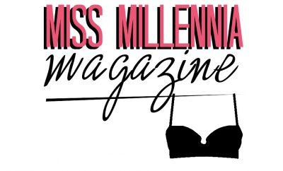 miss millennia magazine bra lingerie