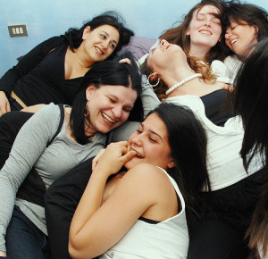 group of girl friends
