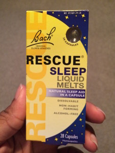 bach rescue sleep liquid melts stress relief