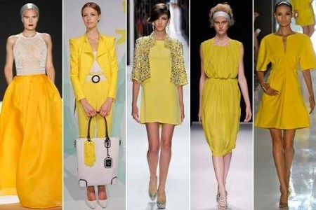 yellow outfits spring style