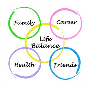 Balancing a career with family and friends