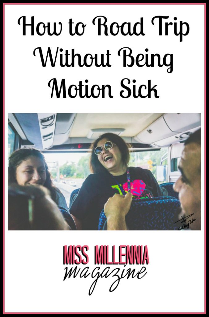 How to Road Trip Without Being Motion Sick