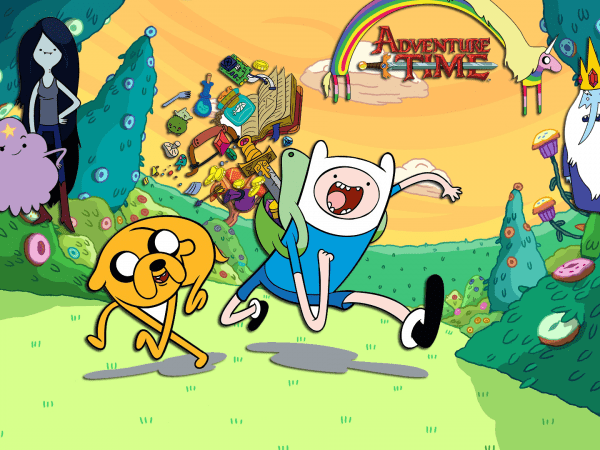 adventure time cartoon network shows