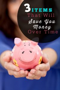 3 Items for saving your Money