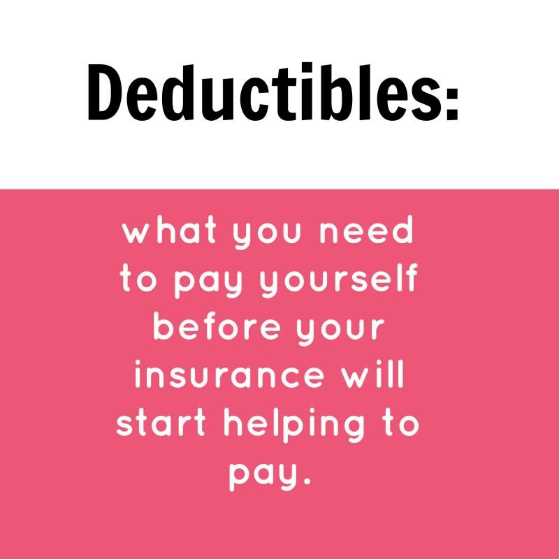 health insurance deductibles fact