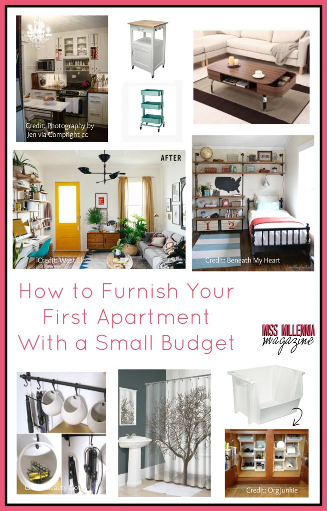 How to furnish your first apartment with a small budget for Furniture for first apartment