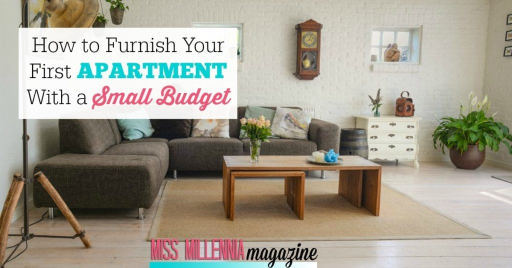 How to Furnish Your First apartment With a Small Budget fb images