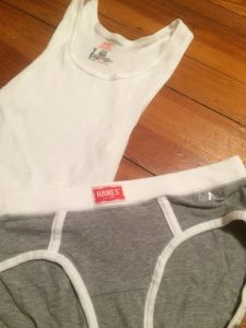 My two amazing Hanes pieces!