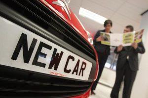 new car bumper