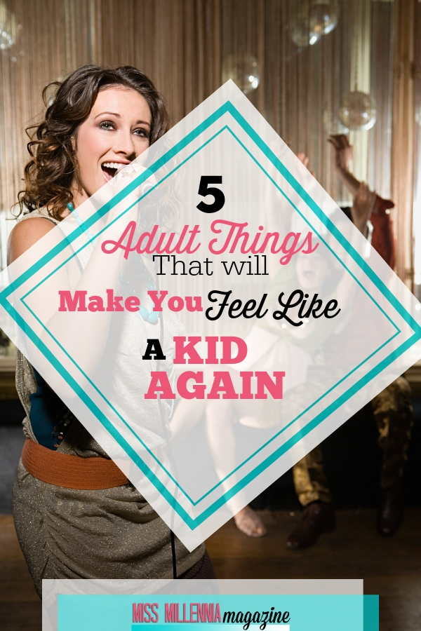 I find ways to have fun, just like when I was a kid! I find that doing this keeps my creative juices flowing and the stress at bay. Check out my list of adult things that will make you feel like a kid again.