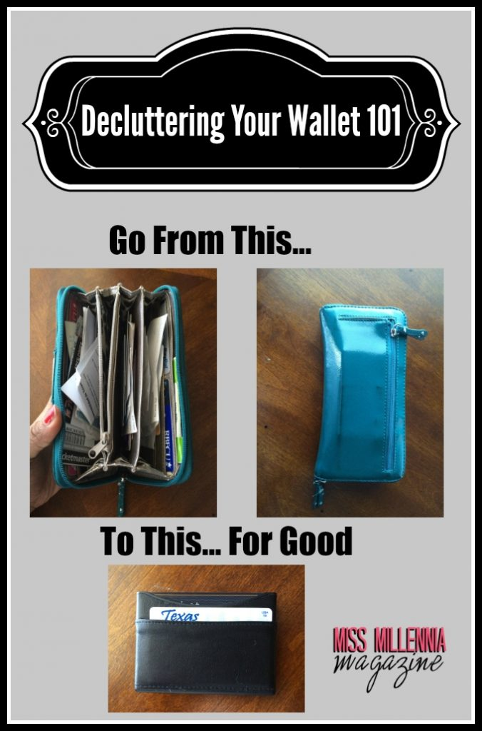 Decluttering Your Wallet 101