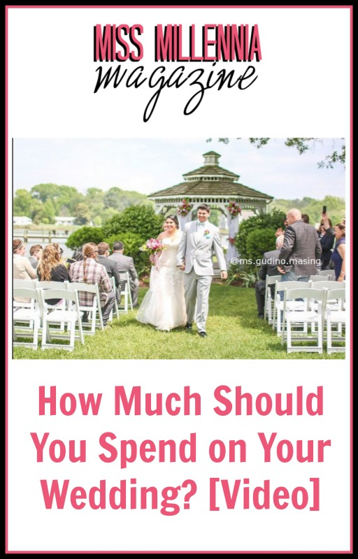 How Much Should You Spend on Your Wedding? [Video]