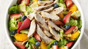 strawberry poppyseed salad from panera