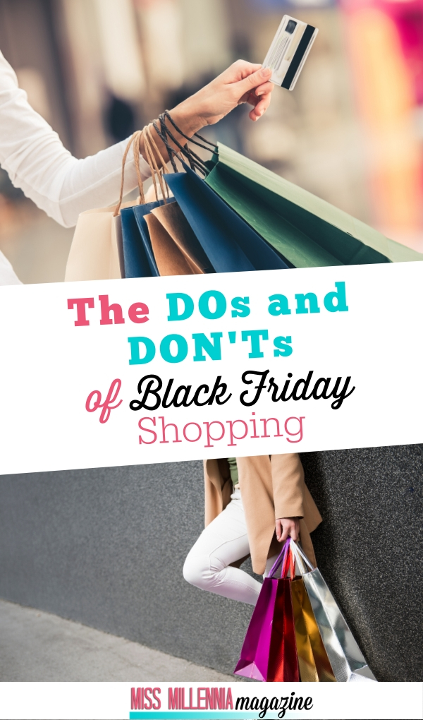 Black Friday Shopping Do's & Don'ts