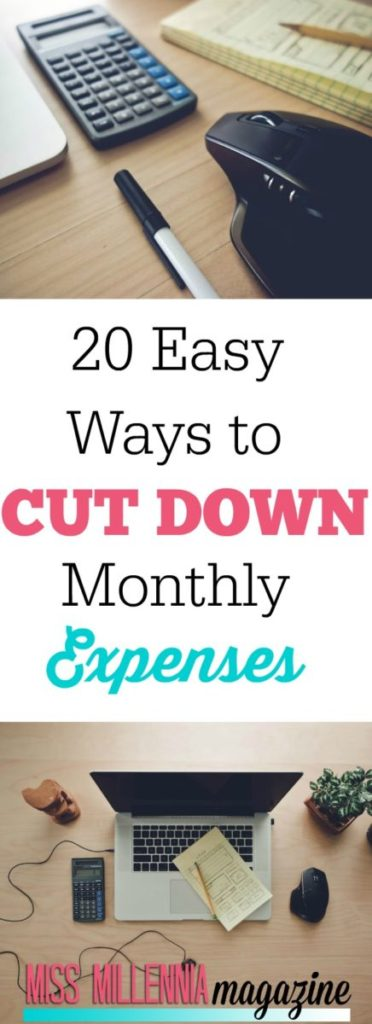 Paying for all of your monthly expenses can be stressful and prevent you from doing the things you want, see our 20 easy ways to cut down on your bills.