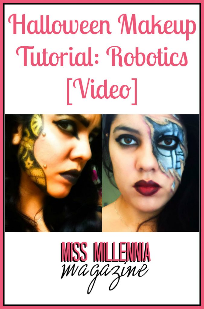 Halloween Makeup Tutorial Robotics [Video]