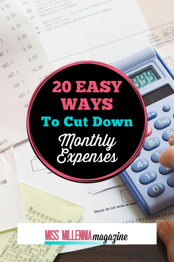 Ways to Cutting Down Expenses
