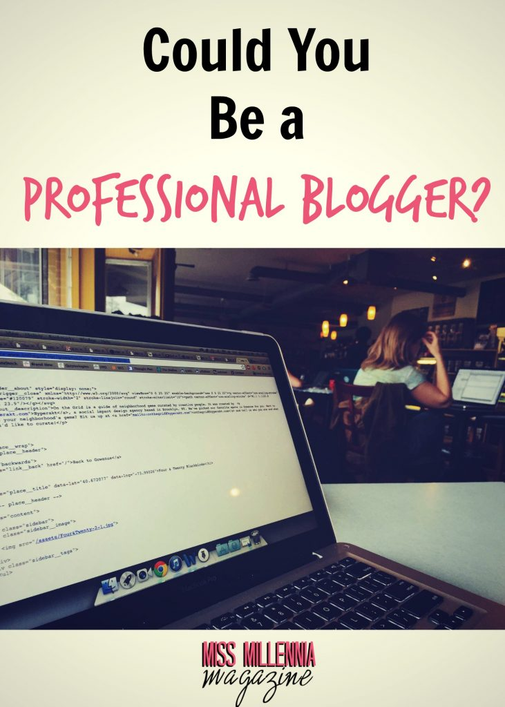 Could You Be a Professional Blogger?