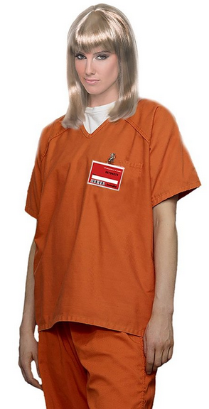 orange is the new black prisoner halloween costume