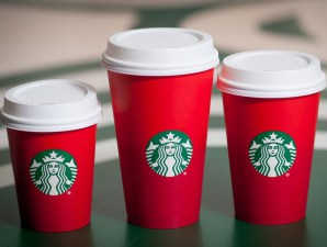 starbucks red cups for holidays