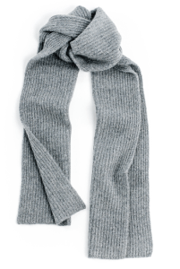 naadam cashmere ribbed scarf