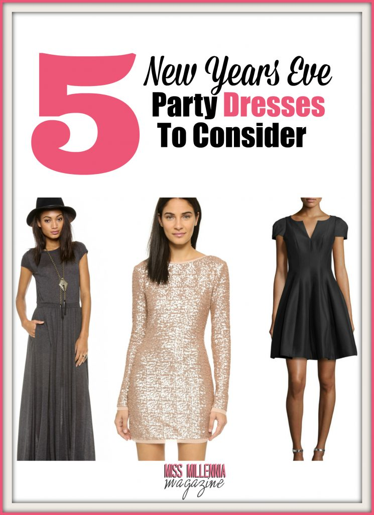 5 New Years Eve Party Dresses to Consider