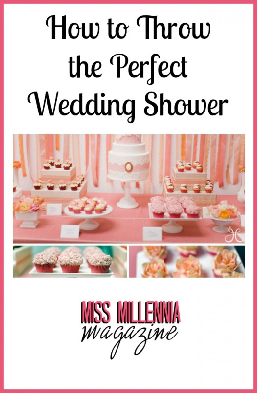 How to Throw the Perfect Wedding Shower