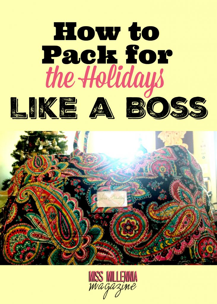 When you pack for holiday travel, it can feel like a huge task, but not when you've got the organizational tactics to do it right.