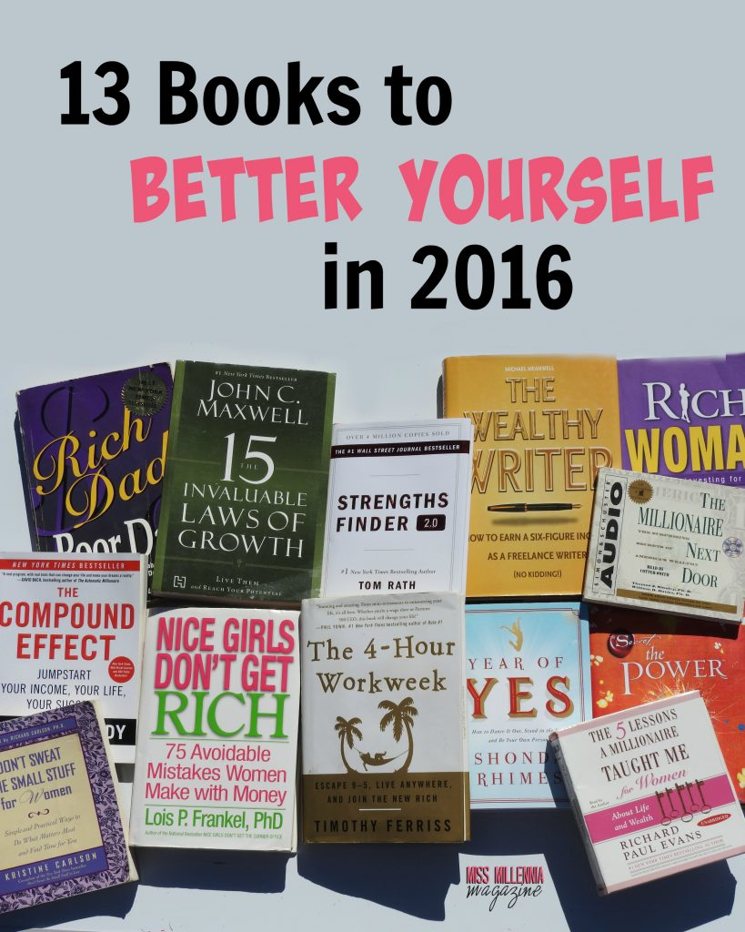 13 Books to Better yourself in 2016