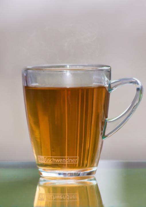tea in mug