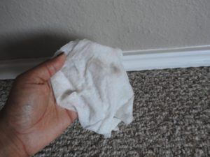 baseboards=allergen collectors. Let's work to make them allergy-free!