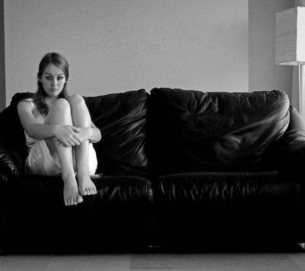 girl, depressed. imposter