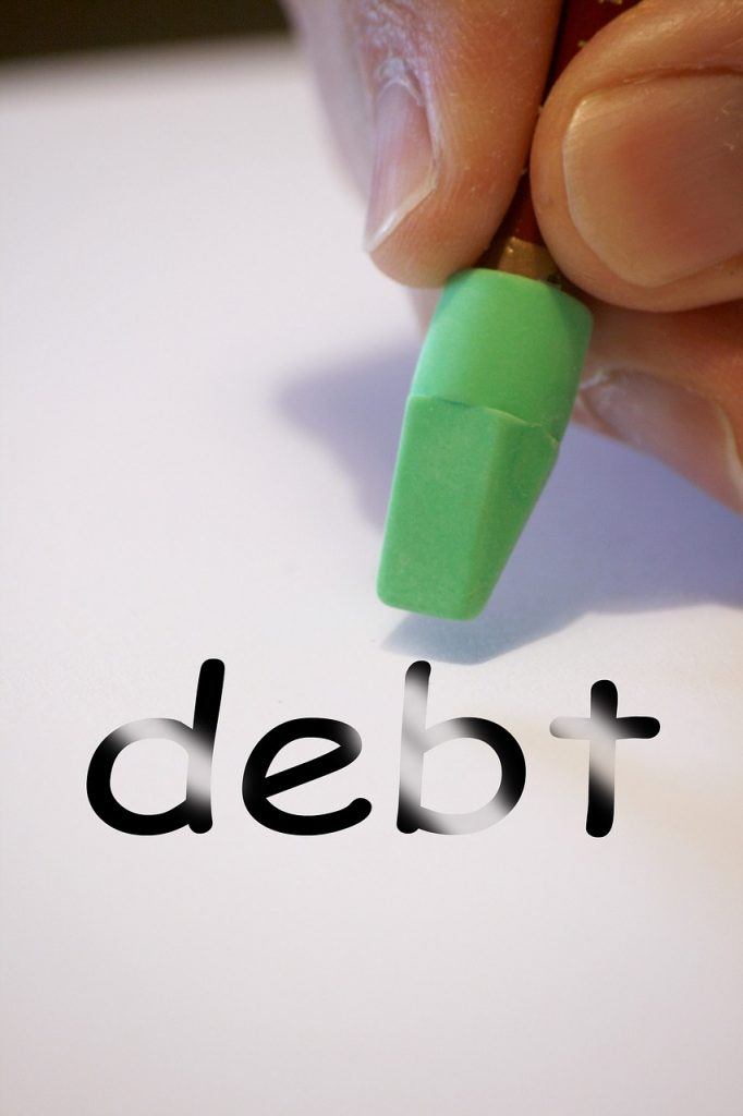 more financially fit pay debts