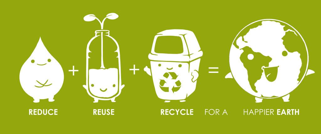 earth day reduce reuse recycle 2016