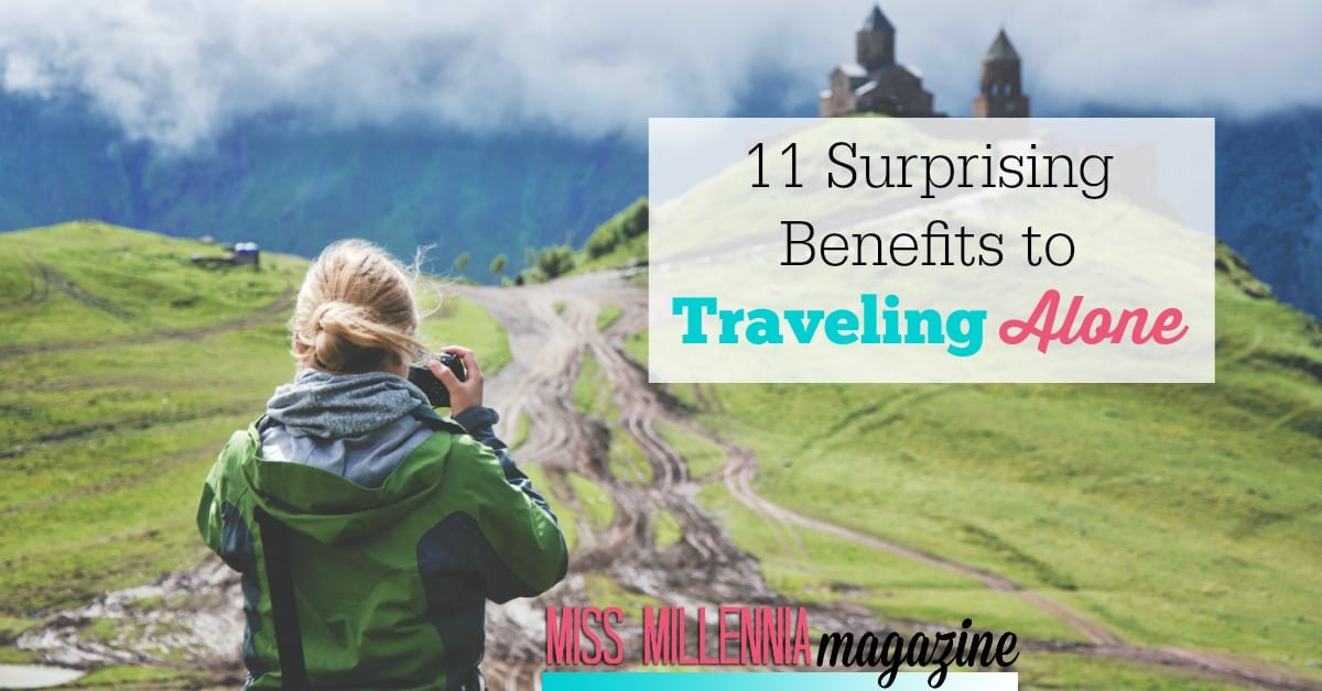 Dreading an upcoming trip that you'll be taking by yourself? Don't! There are actually tons of benefits to traveling alone.