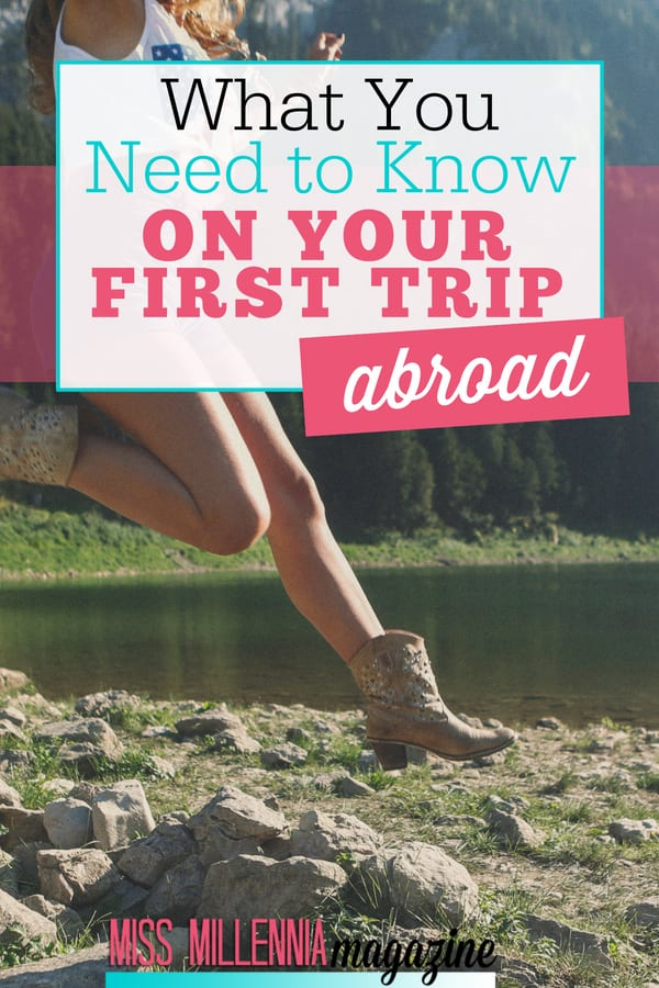 Your first trip abroad can be really exciting! Here are a few tips for international travel and my own experience about my first trip abroad.