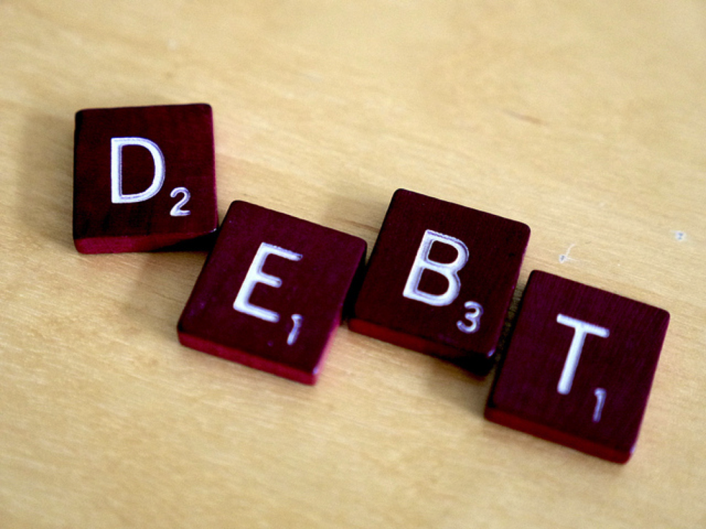 in debt what to do