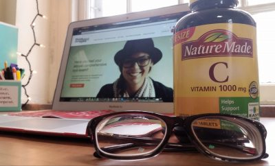 glasses and vitamin c for eye health