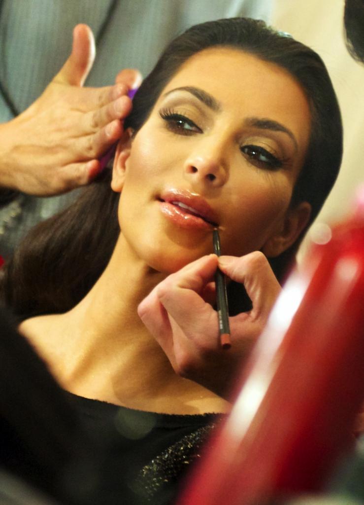 flawless celebrity skin kim kardashian