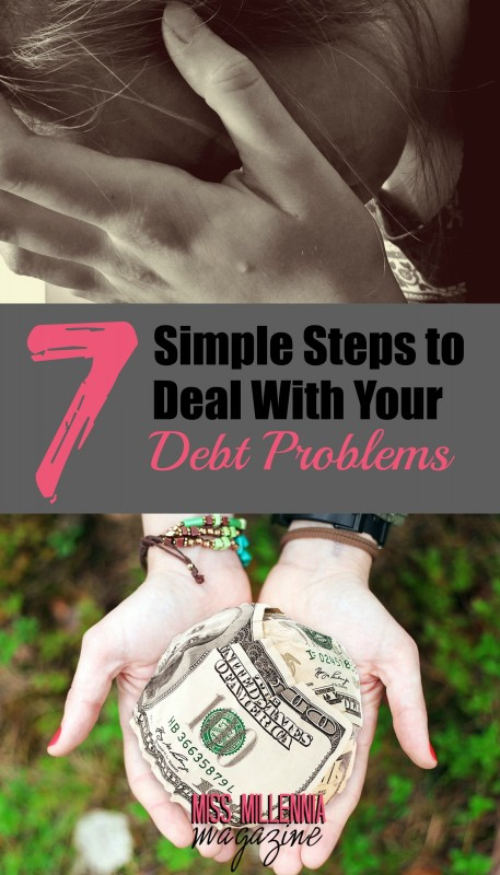 7 Steps to deal with your debt problems