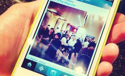 instagram photo in hand
