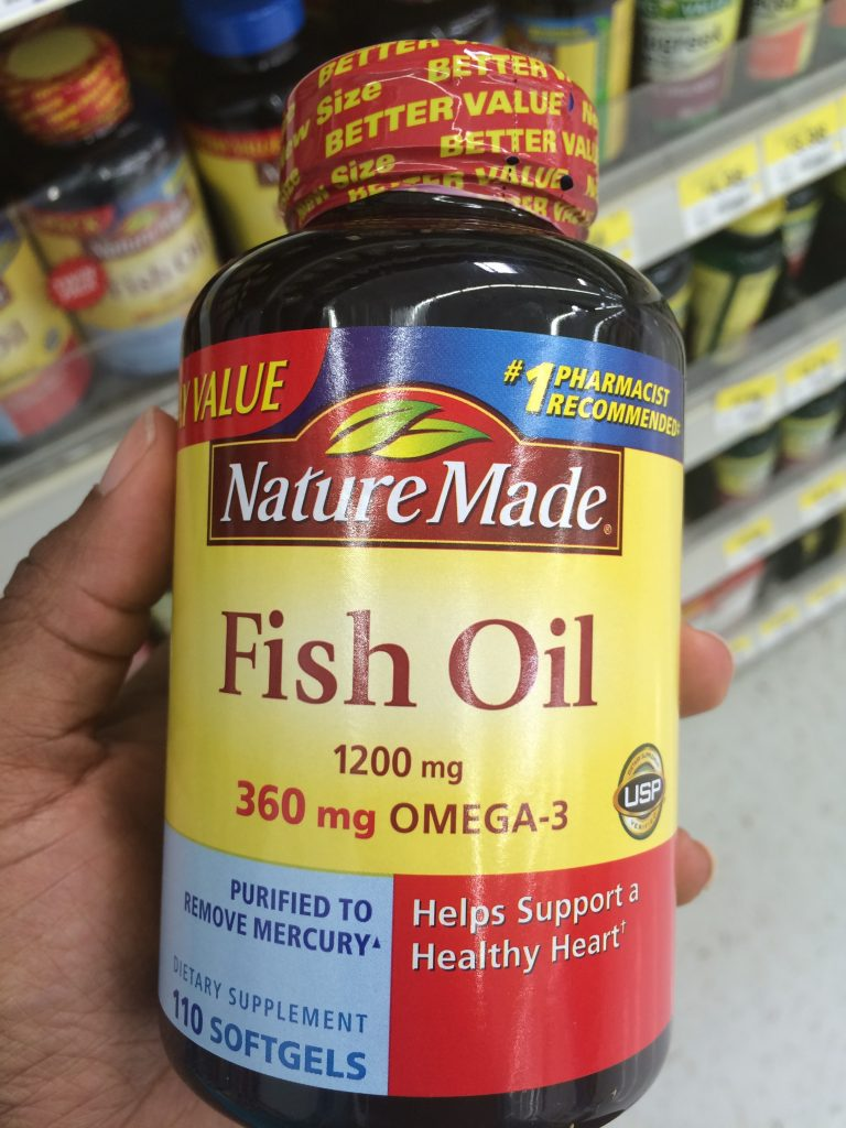 nature made fish oil pills helps better wellness