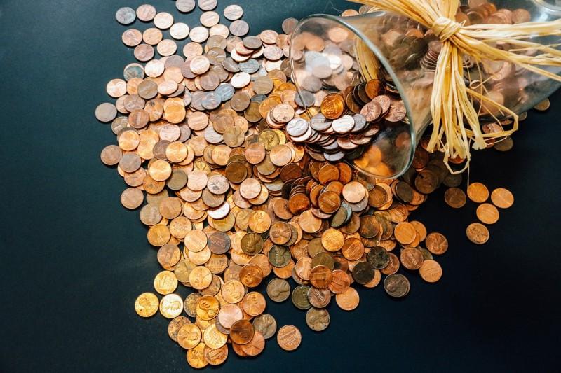 in debt coins
