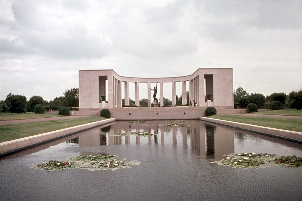 normandy cemetery and memorial day