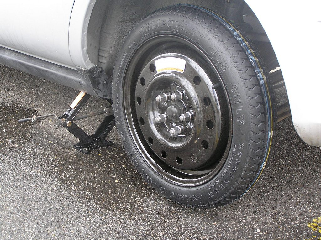 change your tires spare tire