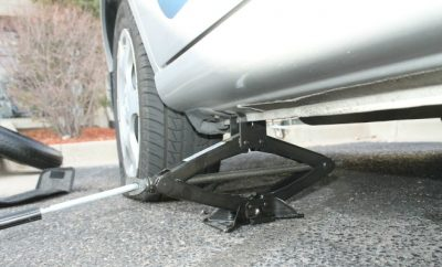 Change Your Tires car jack