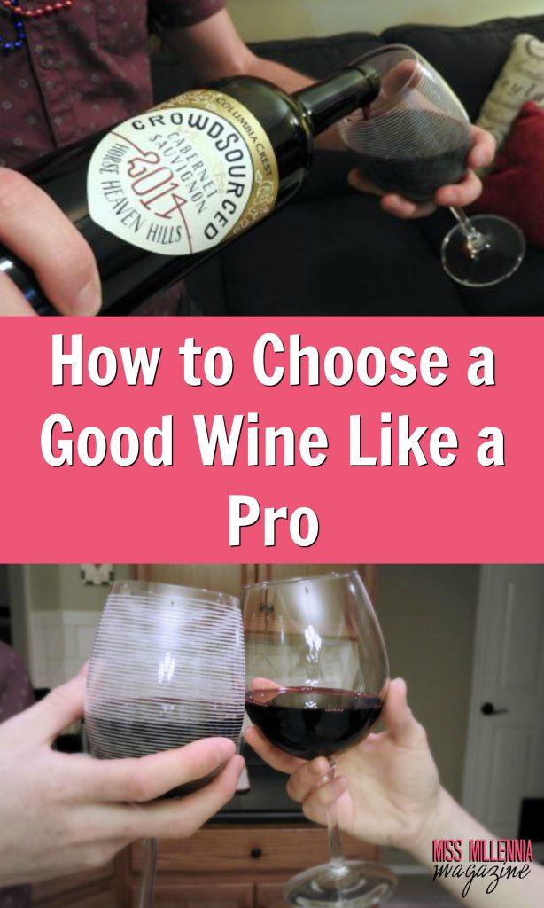 How To Choose a Good Wine Like a Pro