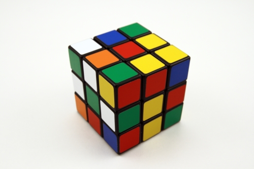 rubics cube discuss issues with your boss