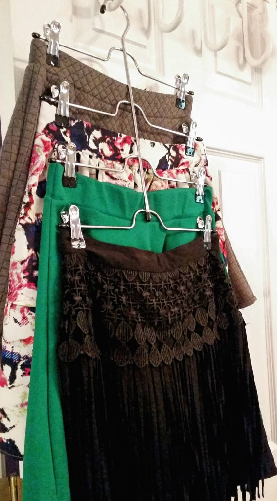 skirt hanger in the best dorm room on campus